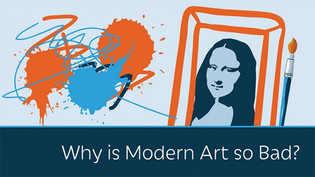 why is modern art so bad ricardo david gt davib